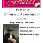 Texsound--Thursday 2/9